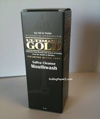 Ultimate Gold BioWash Saliva Cleanse Mouthwash 2 oz