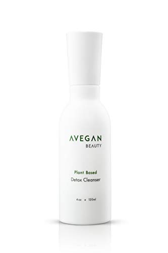 AVegan Beauty Plant Based Detox Cleanser, Wash Away Dirt and Impurities With this Gentle Face Cleanser