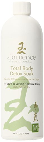 Jadience Body or Foot Detox Soak - Helps Improve Internal Organ Function to Naturally Draw Toxins from The Body, 16 Oz