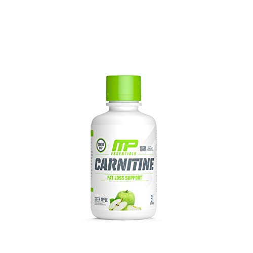 Muscle Pharm Carnitine Essentials Liquid 31 Servings Green Apple, 1.15 Pound