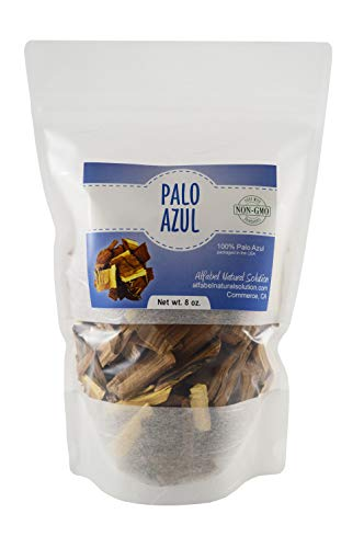 Palo Azul - Palo Dulce - Blue Kidney Detox Wood 8 oz. - Non-GMO - Resealable Stand Up Pouch