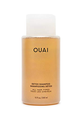 OUAI Detox Shampoo. Clarifying Cleanse for Dirt, Oil, Product and Hard Water Buildup. Get Back to Super Clean, Soft and Refreshed Locks. Free from Parabens, Sulfates and Phthalates (10 oz)