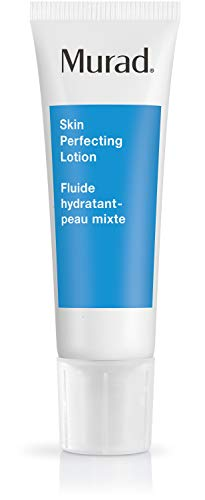 Murad Acne Control Skin Perfecting Lotion - Step 3 (1.7 fl oz), Oil-Free Daily Hydrating Face Moisturizer for Acne Prone Skin with Retinol and Allantonin to Reduce Oil, Tighten Pores, and Calm Skin