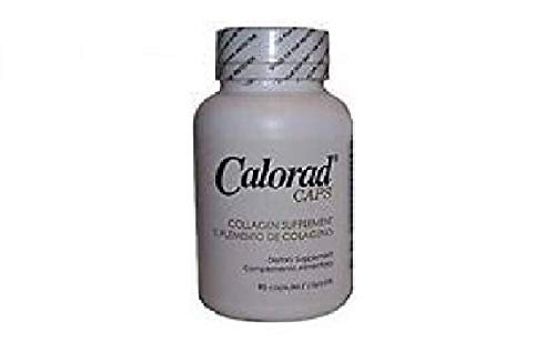 Calorad Collagen Dietary Supplement (1 Bottle) 90 Capsules Increase Energy and Stamina
