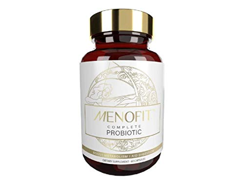 MenoFit Dietary Supplement for Menopause Relief - Natural Weight Management - Helps Hot Flashes, Mood Swings, Low Energy, Menopausal Discomfort - Menopausal Support for Weight & Metabolism