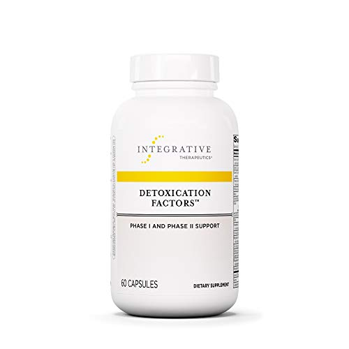 Integrative Therapeutics - Detoxication Factors - Phase I and II Detoxication Support - 60 Capsules