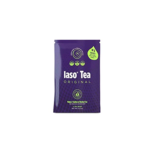 Iaso Tea, Makes 1 gal,2 Tea Bags, by IasoTea