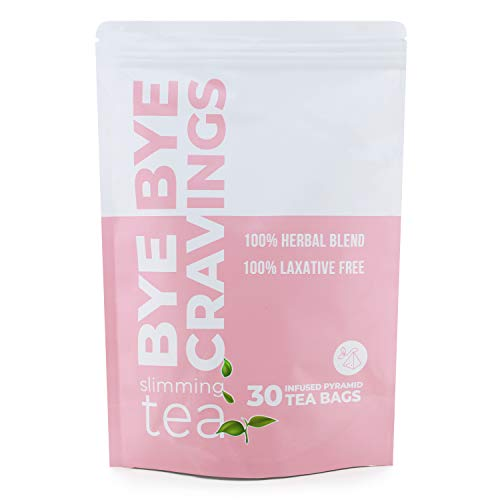 Full Body Detox Tea for Weight Loss and Belly Fat - Flat Tummy Tea Cleanse and Detox - Weight Loss Tea for Women That Work Fast - Dieters Tea for Weight Loss - Herbal Slimming Tea - Bye Bye Cravings