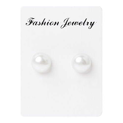 SCASTOE 1 Pair Weight Loss Earrings Healthy Stimulating Acupoints Stud Magnetic Therapy Earring (White)