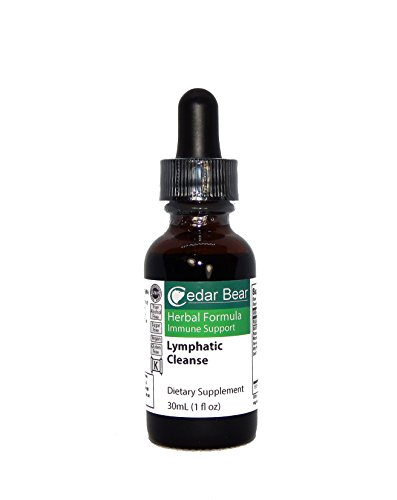 Cedar Bear Lymphatic Cleanse is an Immune Enhancing Formula That Supports The Clearing of The Lymphatic System 1 Fl Oz