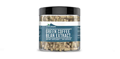 Green Coffee Bean Extract, 200 Capsules, 840 mg Servings, 50% Chlorogenic Acid, Non-Stimulant, Lab-Tested & Gluten-Free, Pure, Non-GMO, No Additives or Fillers, Made in USA, Satisfaction Guaranteed