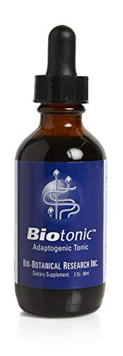 Bio-Botanical Research Biotonic, Adaptogenic Tonic, Restores Vitality and Energy, Targets Digestion and Detoxification, 2oz