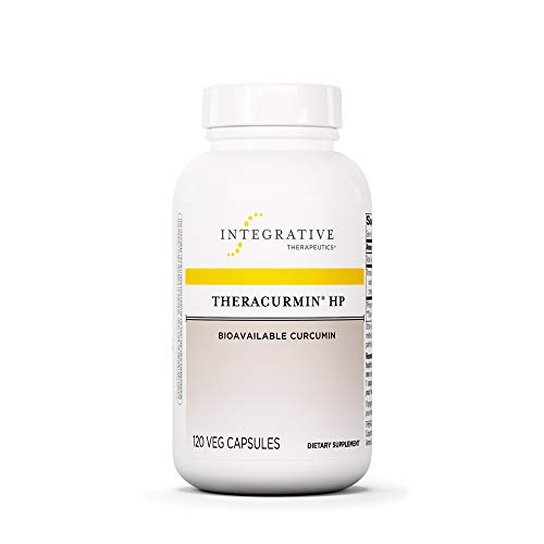 Theracurmin HP by Integrative Therapeutics - Turmeric, Curcumin Supplement - 27x More Bioavailable - High Absorption Turmeric - Vegan - 120 Capsules