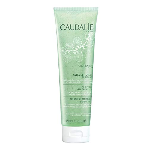 Caudalie Vinopure Natural Salicylic Acid Pore Purifying Gel Cleanser, 5.1 Ounce