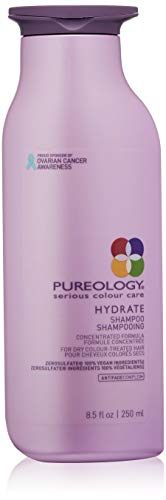 Pureology | Hydrate Moisturizing Shampoo | For Medium to Thick Dry, Color Treated Hair |Sulfate-Free | Vegan |