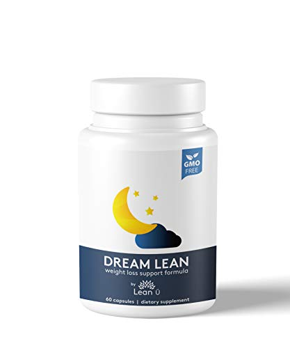 Lean Ü Dream Lean Night Time Fat Burner – Appetite Suppressant & Sleep Aid Combine to Boost Your Metabolism & Attack Stubborn Body Fat While You Sleep - Make Fat Burning a 24 Hour Effort!