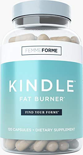 Femme Forme Kindle Fat Burner for Women: Top Rated Diet Pills and Weight Loss for Women Supplement, Formulated with Green Tea Extract (EGCG) to Boost Metabolism and Burn Body Fat, 120 Capsules