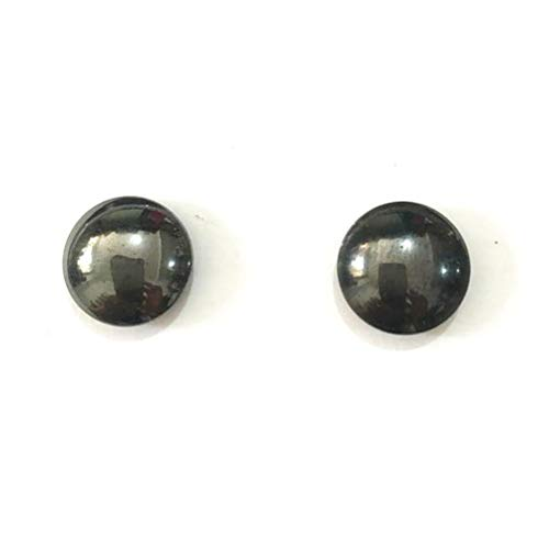 Heallily 2 Pairs of Magnetic Slimming Earrings Loss Weight Healthcare acupoints Ear Studs for Women Girls
