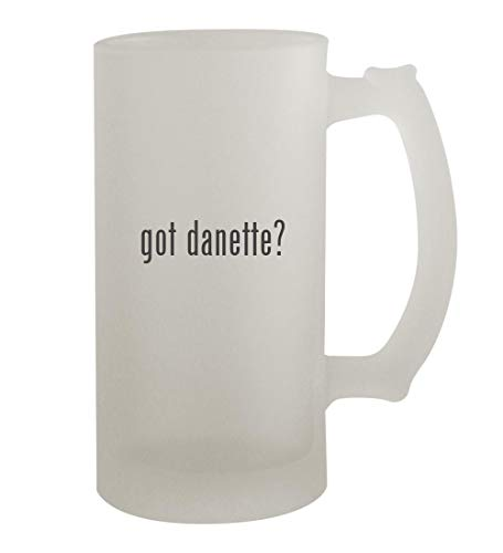got danette? - 16oz Frosted Beer Mug Stein, Frosted