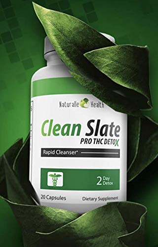 Green Clean PRO Total Health Cleanse Capsules/Tea THCDetox Kidney, Liver Detox & Intestine Cleanse Milk Thistle Toxin Removal Maximum Strength