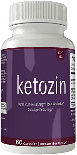Ketozin Weight Loss Pills Advance Weight Loss Supplement Appetite Suppressant Natural Ketogenic 800 mg Formula with BHB Salts Ketone Diet Capsules to Boost Metabolism, Energy and Focus