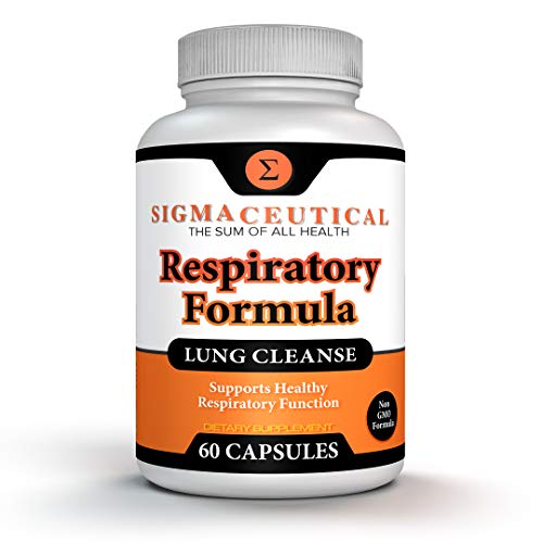 Lung Cleanse for Smokers - Sinus Relief - Allergy Relief – Breathe Clear, Healthy & White - Lung Detox for Smokers - Supplement for Lung Health - 60 Capsules
