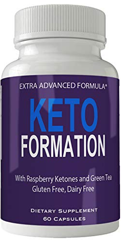 Keto Formation Extra Strength Formula Diet Pills Supplement for Weight Loss Burn Capsules Advanced Weight Loss Supplement Capsules with Garcinia, Raspberry Ketones