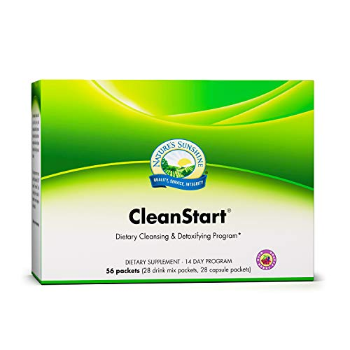 Nature's Sunshine CleanStart, Wild Berry | 14 Day Full Body Detox Supports Increased Energy, Weight Loss, and Detox