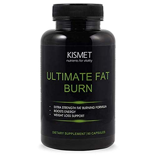 KISMET Nutrients – Thermogenic Fat Burn Supplement for Men and Women, Garcinia Cambogia CLA Ultimate Cleanse Metabolism Booster, 90 Extra Strength Capsules