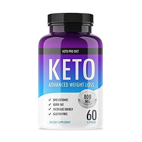 Keto Pro Diet - Advanced Keto Weight Loss Supplement - Ketogenic Fat Burner - Supports Healthy Weight Loss - Burn Fat Instead of Carbs - 30 Day Supply