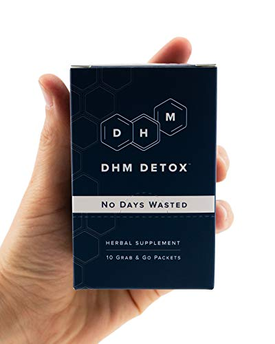 DHM Detox Hangover Prevention Pills - Dihydromyricetin (DHM), N Acetyl Cysteine, Milk Thistle, Prickly Pear, Hydration Electrolytes Blend-Take After-Alcohol to Aid in Recovery