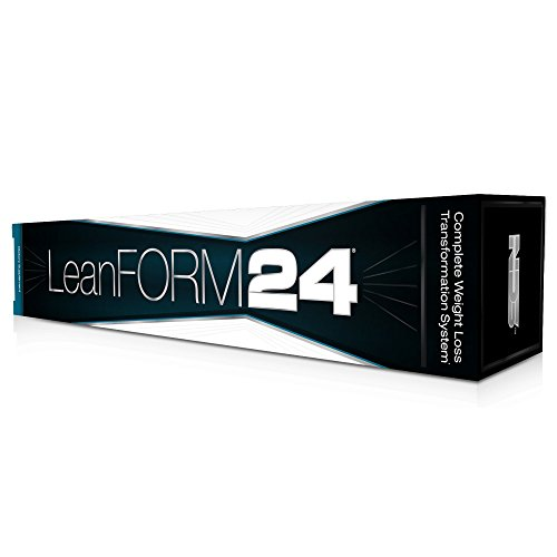 NDS Nutrition LeanForm24 Complete Diet Kit Weight Loss - Decrease Appetite and Energy Booster - L-Carnitine and CLA (Intensify Black 90 Capsules, Censor 90 Softgels, and Slim-Tox 90 Capsules)