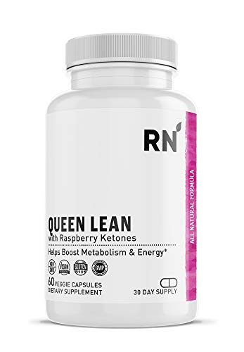 Queen Lean Weight Loss Supplement - Raspberry Ketones, Green Tea, Garcinia Cambogia, Caffeine - Thermogenic Belly Fat Burner, Metabolism Booster, Appetite Suppressant and Weight Loss for Women and Men