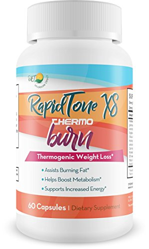 Rapid Tone XS - Premier Diet Thermo Burn - Ketosis System - Clear The Way to Ketosis! - Burn Fat! - Lose Weight! - Boost Energy - Antioxidant - Premier Diet Keto - Gluten Free!