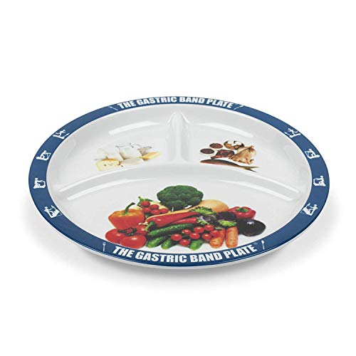 The Gastric Band Plate Diet Portion Control Weight Loss Plate