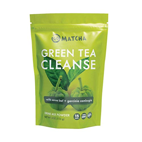 360 Nutrition Green Tea Detox Cleanse | 15 Servings | Weight Loss, Senna Leaf and Garcinia Cambogia Powder