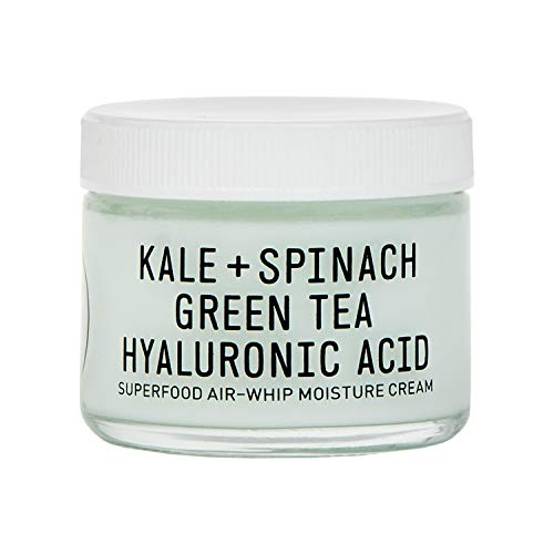 Youth To The People Superfood Hyaluronic Acid Air-Whip Moisture Cream - Clean Skincare - Vegan Facial Moisturizer with Kale, Green Tea + Vitamin C - Antioxidant Gel Cream (2oz)