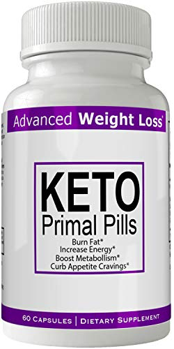 Keto Primal Pills Advanced Weight Loss Supplement - Keto Primal Pills Weight Loss Capsules - Advanced Weight Loss 800 mg Formula Pills - BHB Salts Tablets Original by nutra4health