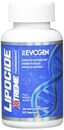 Lipocide Xtreme | Maximum Strength Single Capsule Extreme Fat Burner, Dynamine, Capsimax, Bioperine | 60 Capsules