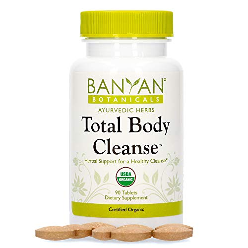 Banyan Botanicals Total Body Cleanse – Organic Detox Supplement with Amla & Manjistha – Supports Ayurvedic Cleanses, Detoxification, Liver Function* – 90 Tablets – Non GMO Sustainably Sourced Vegan