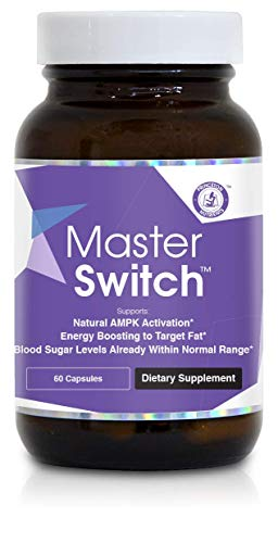 Princeton Nutrients MasterSwitch Natural AMPK Activator and Energy Booster, 60 Count