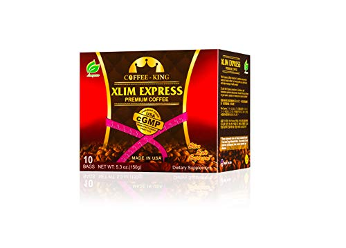 Xlim Express Weight Loss Coffee(10 Sachets/Box) with L-Carnitine. 100% Natural and no side effect