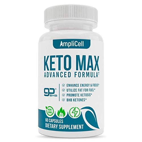 Keto Pills - Advanced Keto BHB Supplements w/Carb Blocker for Men & Women - Keto Diet Pills to Utilize Fat for Energy with Ketosis - Support Metabolism, Boost Energy & Manage Cravings – 60 caps