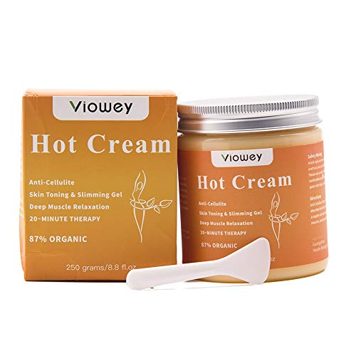 Body Slimming Firming Fat Burner Set for Tightening Skin Weight Loss Body Shaper … (Hot Cream)