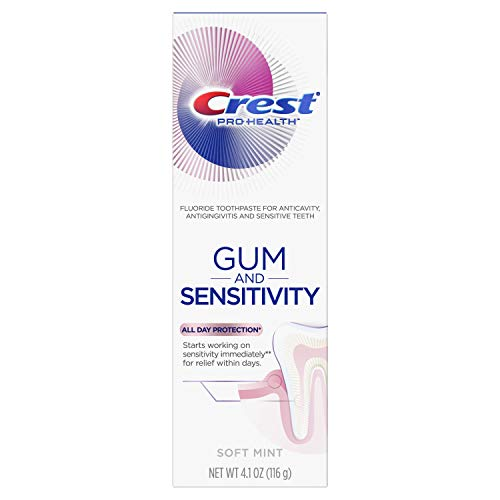 Crest Pro-Health Gum and Sensitivity, Sensitive Toothpaste, All Day Protection, 4.1 oz
