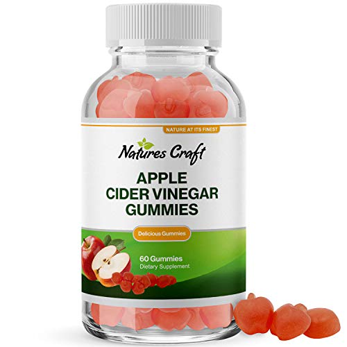 Best Apple Cider Vinegar Gummies - ACV Gummies for Appetite Suppressant Colon Cleanse and Detox Fat Loss Liver Aid Kidney Support Bloating Relief and Weight Loss with Digestive Enzymes and Folic Acid