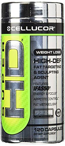 Cellucor Super HD Capsules, 120 Count Pack