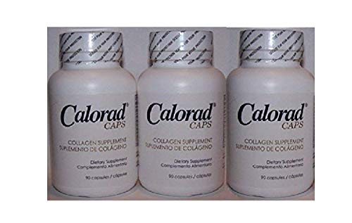 Calorad Caps, 90 Capsules, (3 Pack)