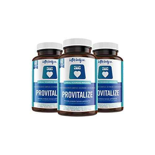 Provitalize | Best Natural Weight Management Probiotic (3 Bottles)