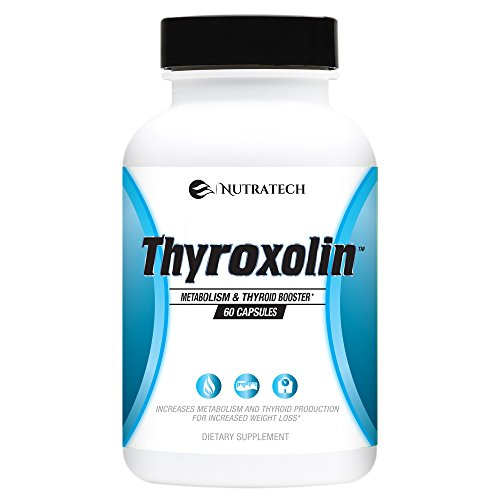 Thyroxolin – Thyroid Support Scientifically Engineered to Boost Metabolism, Increase Mental Focus & Concentration, Support Weight Loss, Increase Energy, Reduce Fatigue